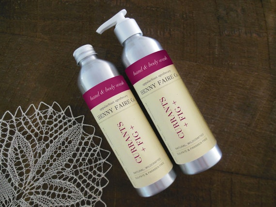 currants + fig hand & body wash | sulfate free