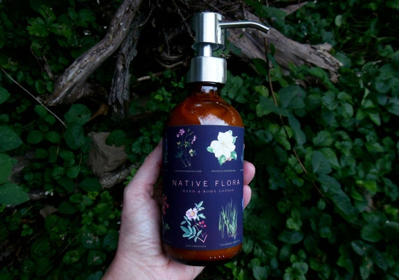 NATIVE FLORA Hand & Body Lotion