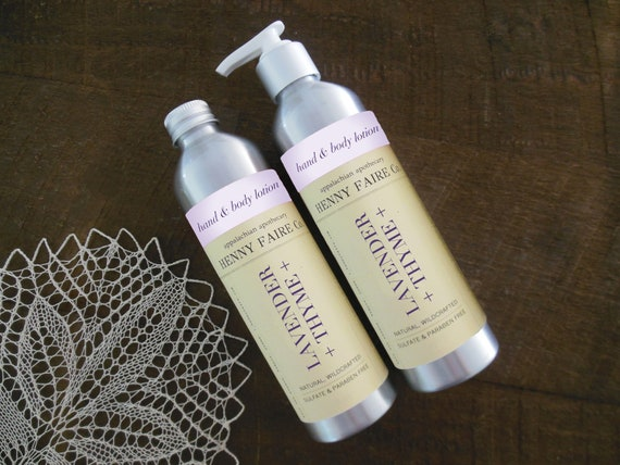 lavender + thyme hand & body lotion