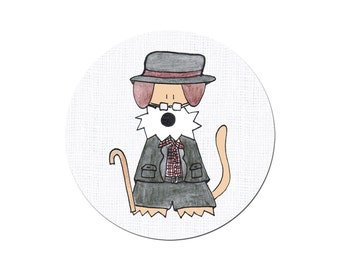Soccer Player Fussball Football German National Team Airedale Welsh Irish Terrier Funny  World Championship Pinback Button by Hallo Molly