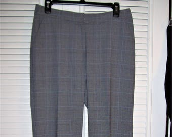 Pants 8 - 10, Glen Plaid Beautiful Pants, Michael Kors REDUCED TODAY !Vintage, Poly Blend, - see details