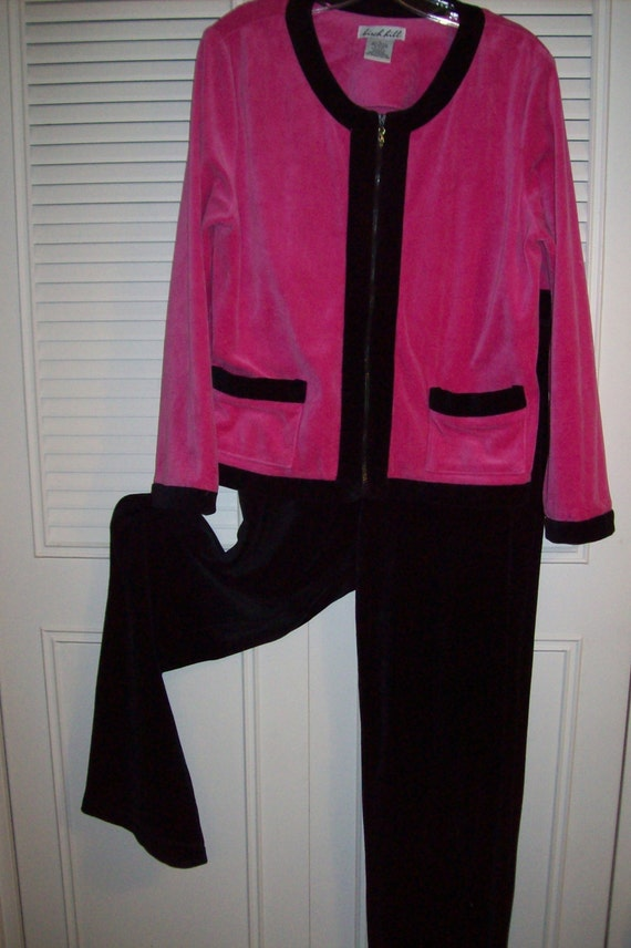 Lounge Outfit, Jog Suit, Velour Two Pieced Really