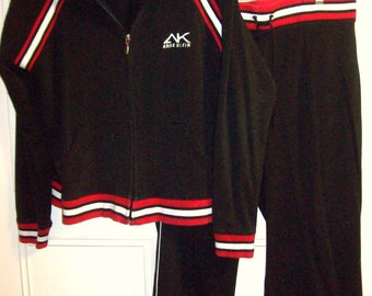 Jog Suit XL,  Anne Klein Jog/ Lounge Suit , Hooded, Navy,Red,White ! Size XL