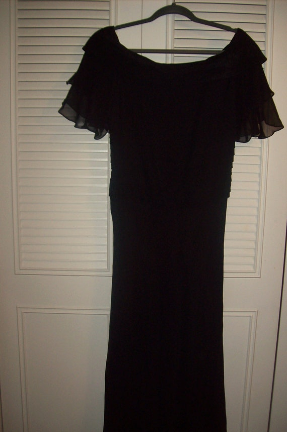 Dress 8 Tall, Vintage Jovani Evening Party 8 TALL