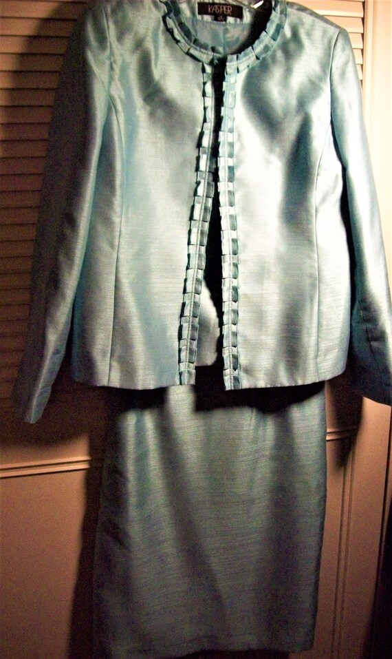 Suit 10, Skirt Suit 10, Kasper Dressy Evening Skir