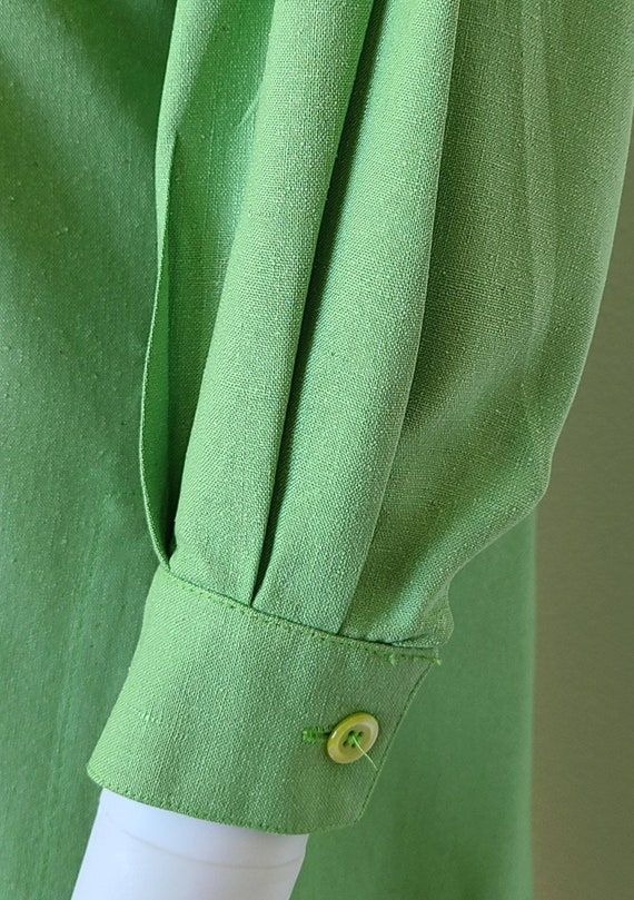 Vintage Guy Laroche Tunic Top   Linen   Medium   … - image 5