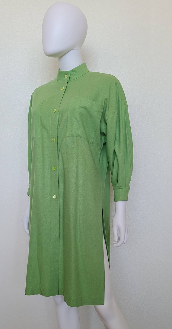 Vintage Guy Laroche Tunic Top   Linen   Medium   … - image 4
