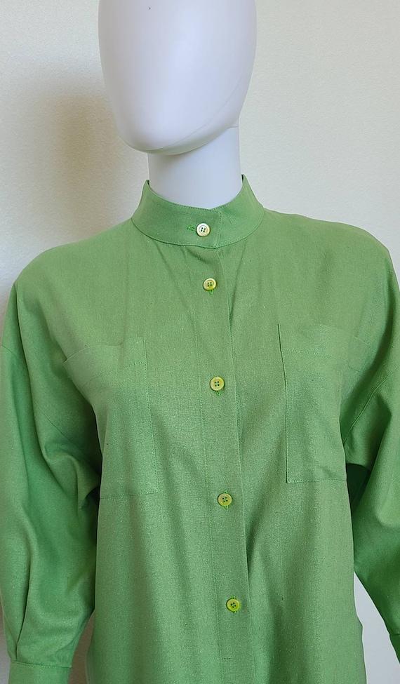 Vintage Guy Laroche Tunic Top   Linen   Medium   … - image 3