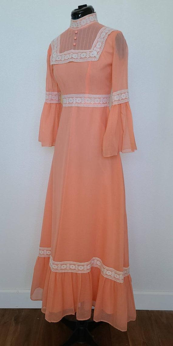 Vintage Prairie Maxi Dress