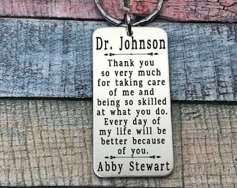 Thank You Nurse, Doctor thank you, Hospital Thank you, Nicu Thank you, Therapist thank you, Thank you Gift for her, for him, Custom Wording
