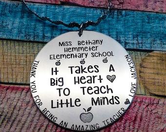 Teacher Christmas Ornament, Teacher Gift, Personalized Teacher Gift, Gift For Teacher, Teacher Present, Teacher Gift Idea, ENGRAVED Ornament