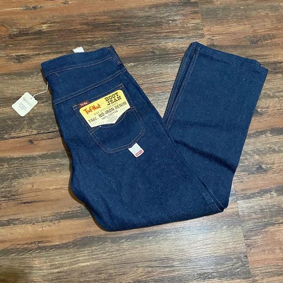 1960s deadstock Tuf-Nut highwaist denim jeans