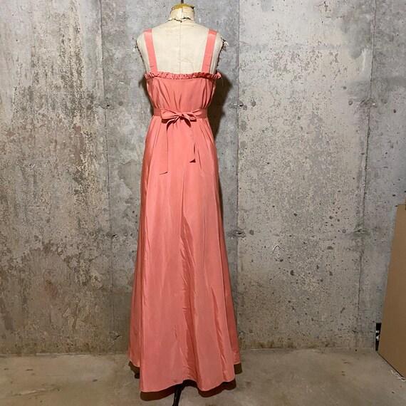 1930s Pink Maxi Dress With Matching Bolero - image 4