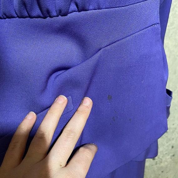 1940s Forstmann Purple Lilac Gabardine Suit - image 4