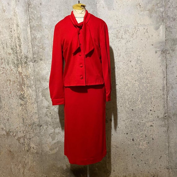 1950s  1960s Red Suit