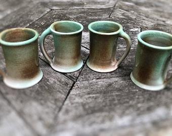 Mug Set, Tankard Set, Handmade Mugs, Stoneware Mug Set, Ceramic Mug Set