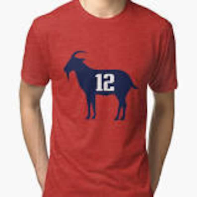 Tom Brady G.O.A.T T-shirt  8a6524618