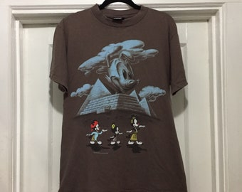 cce93682 Rare Vintage 1995 Animaniacs Egypt T-Shirt By Giant Size Large