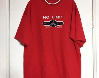 5242ca17d4200 Vintage No Limit Records Bout It Bout It True Soldier T-Shirt Size XXL RARE
