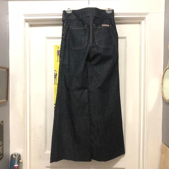 """Vintage Hudson Brand Side Zip Jeans Size """"27"""""""