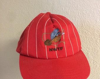 Vintage National Wild Turkey Federation baseball Hat