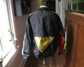 Vintage 90s SunBuster Windbreaker Jacket Adult Medium