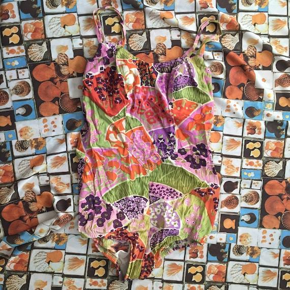 Vintage 1960s/70s Jantzen Floral Swimsuit