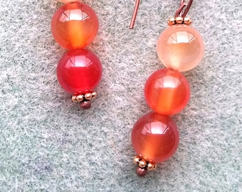 Peach Daiquiri Earrings