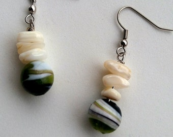 Mossy River Earrings