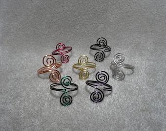 Adjustible Swirl Ring