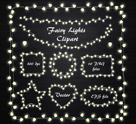 Fairy Lights Clipart String
