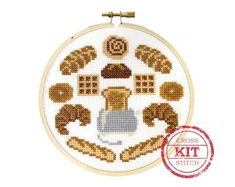 Bread Head DIY Cross Stitch Kit