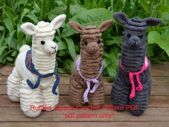 More Llama and Alpaca Crochet Patterns   Amigurumi häkeln ...   429x570