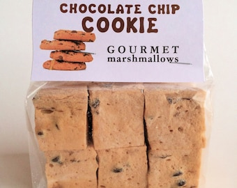 Chocolate Chip Cookie Gourmet Marshmallows *Naturally Gluten Free!*