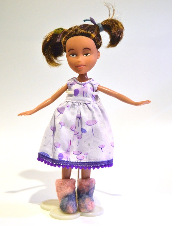 Remade Bratz doll, up cycled plastic doll, under makeover doll, recycled  repainted Bratz doll, Eclectic Wandering, Minnesota artist