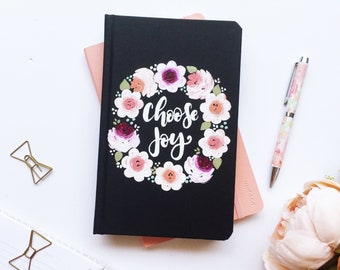 Choose Joy Notebook, Choose Joy, Floral Notebooks, Cute Journals, Gift for Her