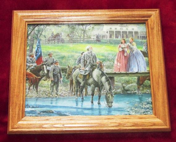 Mort Kunstler Confederate Robert E Lee Civil War Print Chancellorsville