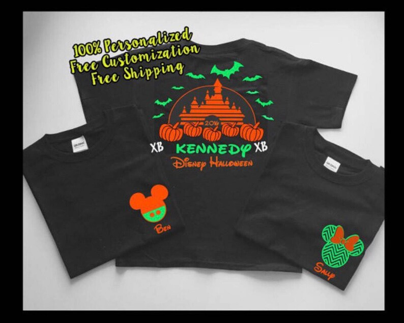 Disney Halloween Shirts Etsy.Disney Halloween Shirts Disney World Halloween Shirts Disneyland Halloween Shirts Halloween Family Disney Shirts