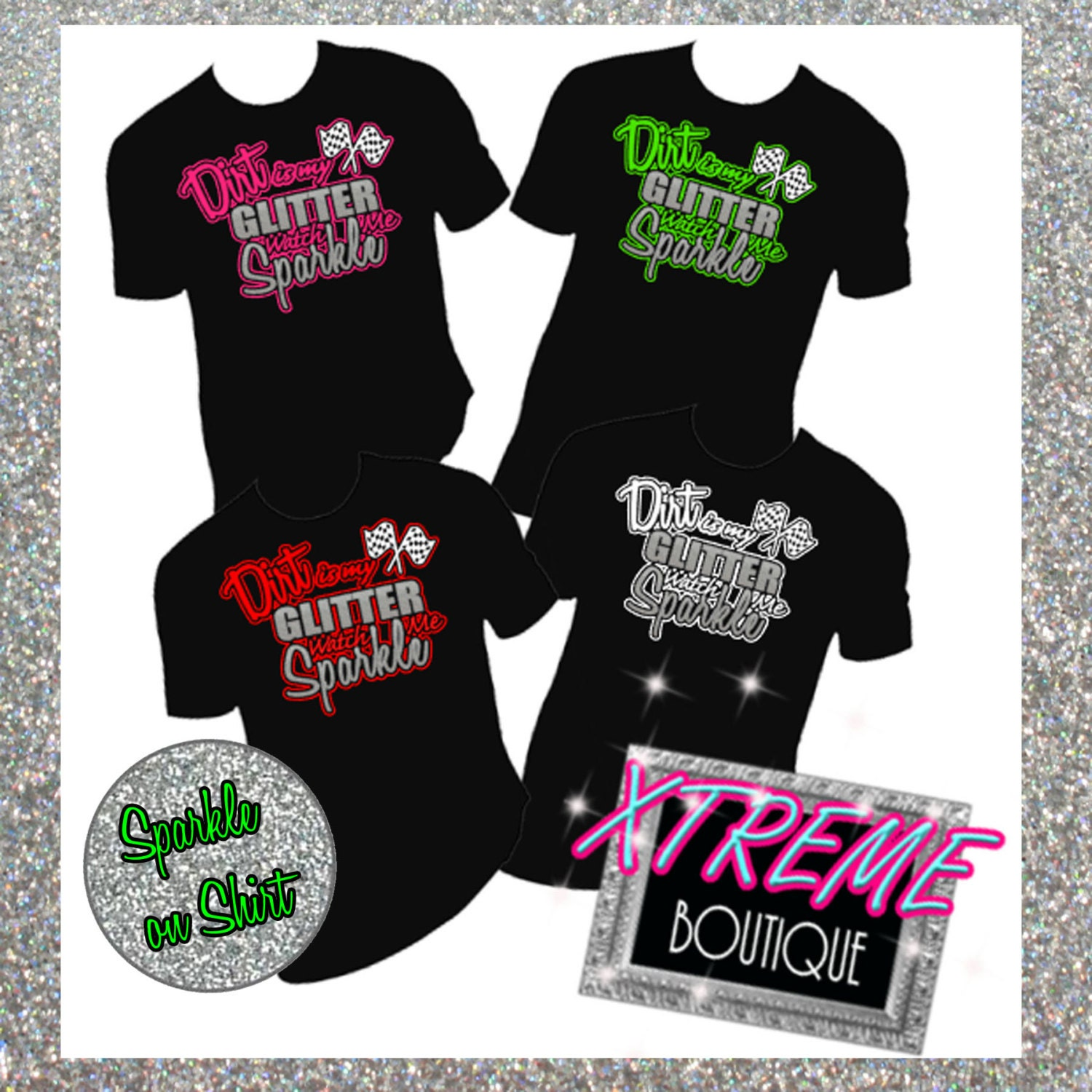 Custom Dirt Racing Shirt Pick Your Color And Saying Dirt Is Etsy