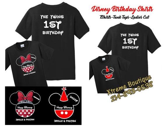 Disney Shirts Family Matching Custom Birthday World Land 2018 Trip 2019 Pocket Park Group Mickey