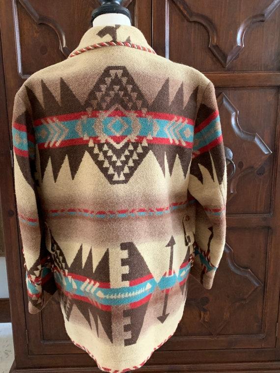 Ralph Lauren country/wool/Navajo jacket/vintage - image 2