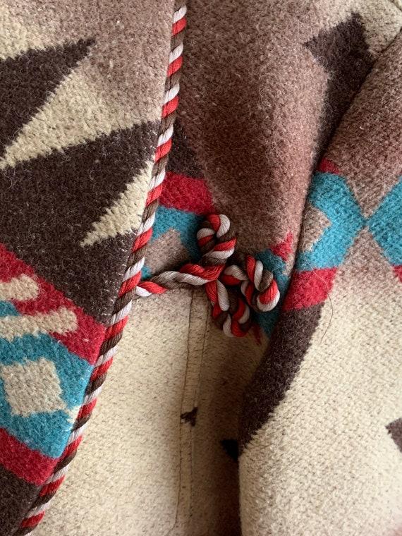 Ralph Lauren country/wool/Navajo jacket/vintage - image 4