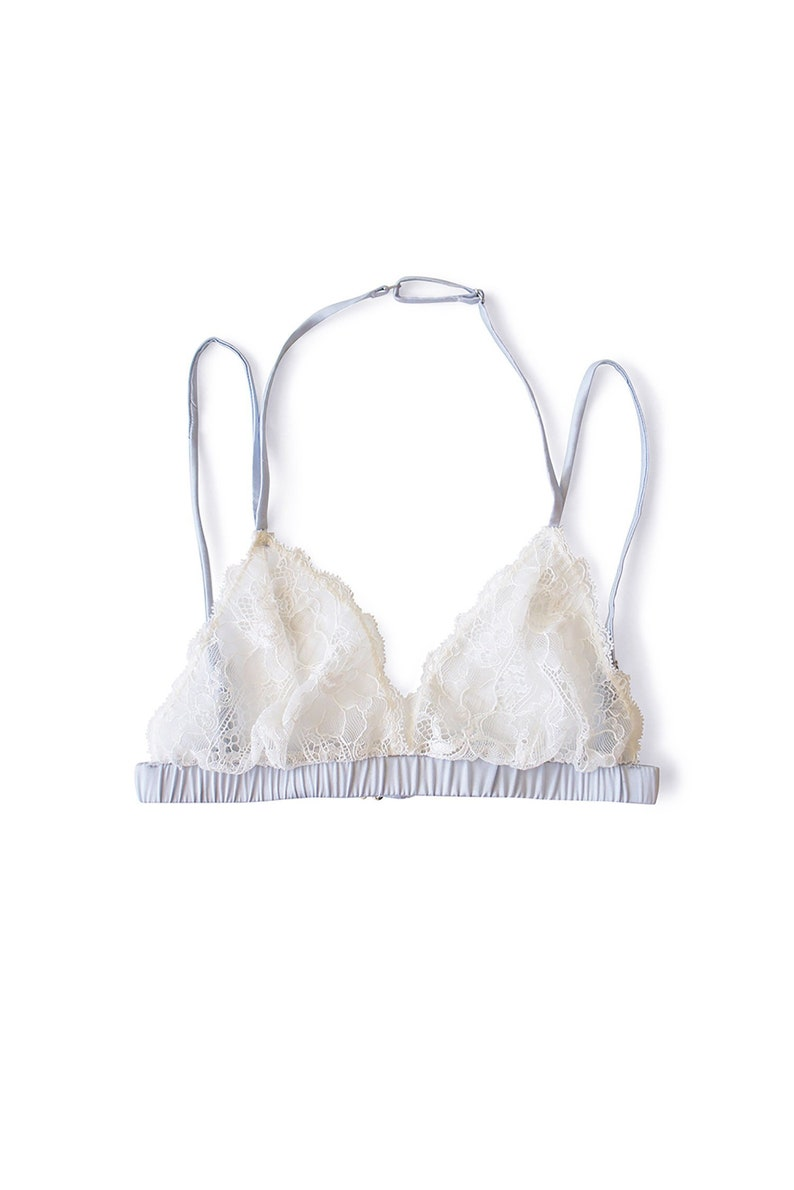 7d3fc684ac6 Daphne Silk and Lace Bralette