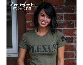 Womens SLIM FIT - Military Green - Plexus Army 2027633302015AO