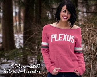 Plexus Summer Berry Vintage Eco-Fleece Sweatshirt w/ Puff Graphic 73756AO | Retro Sweatshirt | Pink Drink | Team Gift | Gift for Her