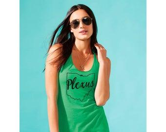 Plexus State Women's Racerback Tank - Green