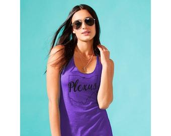 Plexus State Women's Racerback Tank - Purple