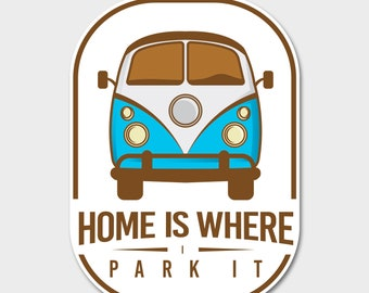 Camper Decal, RV Decal, Camping Decal, RV Sticker, Car Decal, Retro RV, Glamping, Environment, Trailer Decal, Travel Decal, Adventure Decal