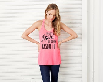 Animal Rescue Tank (Neon Pink)