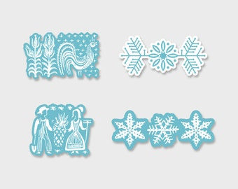 Pyrex Fridgie Prints Sticker Decal 3